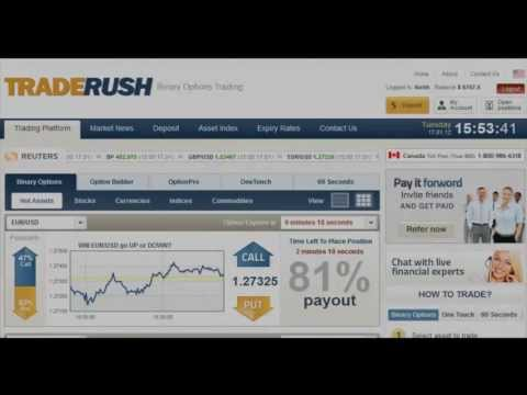 Thumbnail: How to Make Money Online ~ Binary Options Trading Tutorial