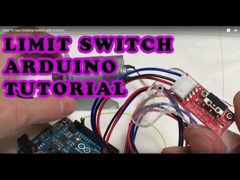 how to use endstop switch with arduino youtube
