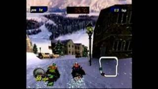 Polaris SnoCross PlayStation Gameplay