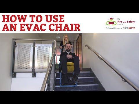 Official Evac Chair Demonstration Video Doovi