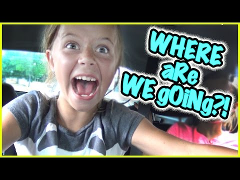 😝 IT'S BABY RORY'S FIRST TIME!!! 😝 WHERE ARE WE GOING!?!?! 😝