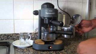 cafetera coffe maker  machine Philips Expresso Quattro HD5665/A