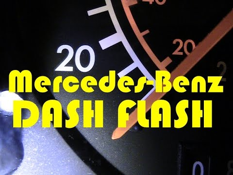 Mercedes Benz 300SL (R129) Dash Flash