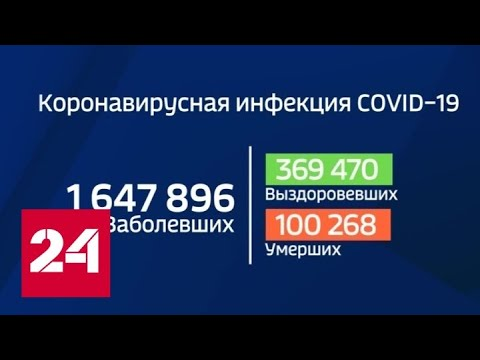 Число жертв коронавируса в мире превысило 100 тысяч - Россия 24
