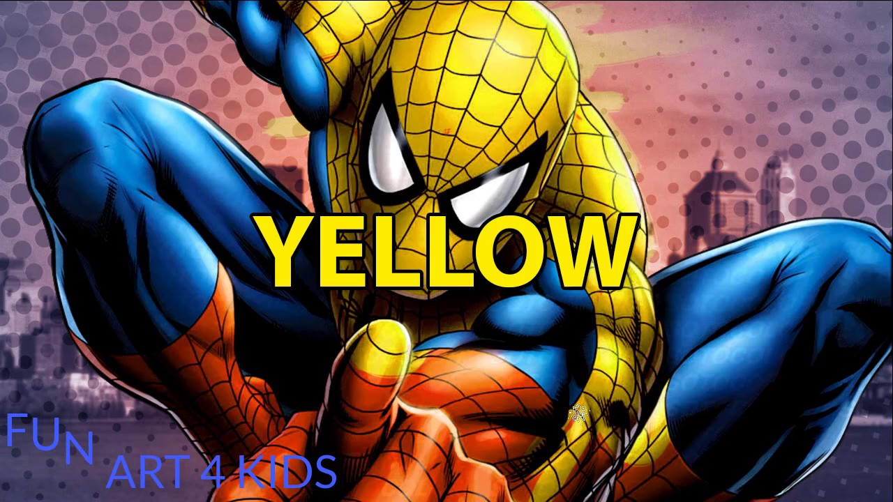 ment dessiner et colorier SpiderMan Apprenez couleurs avec Spiderman