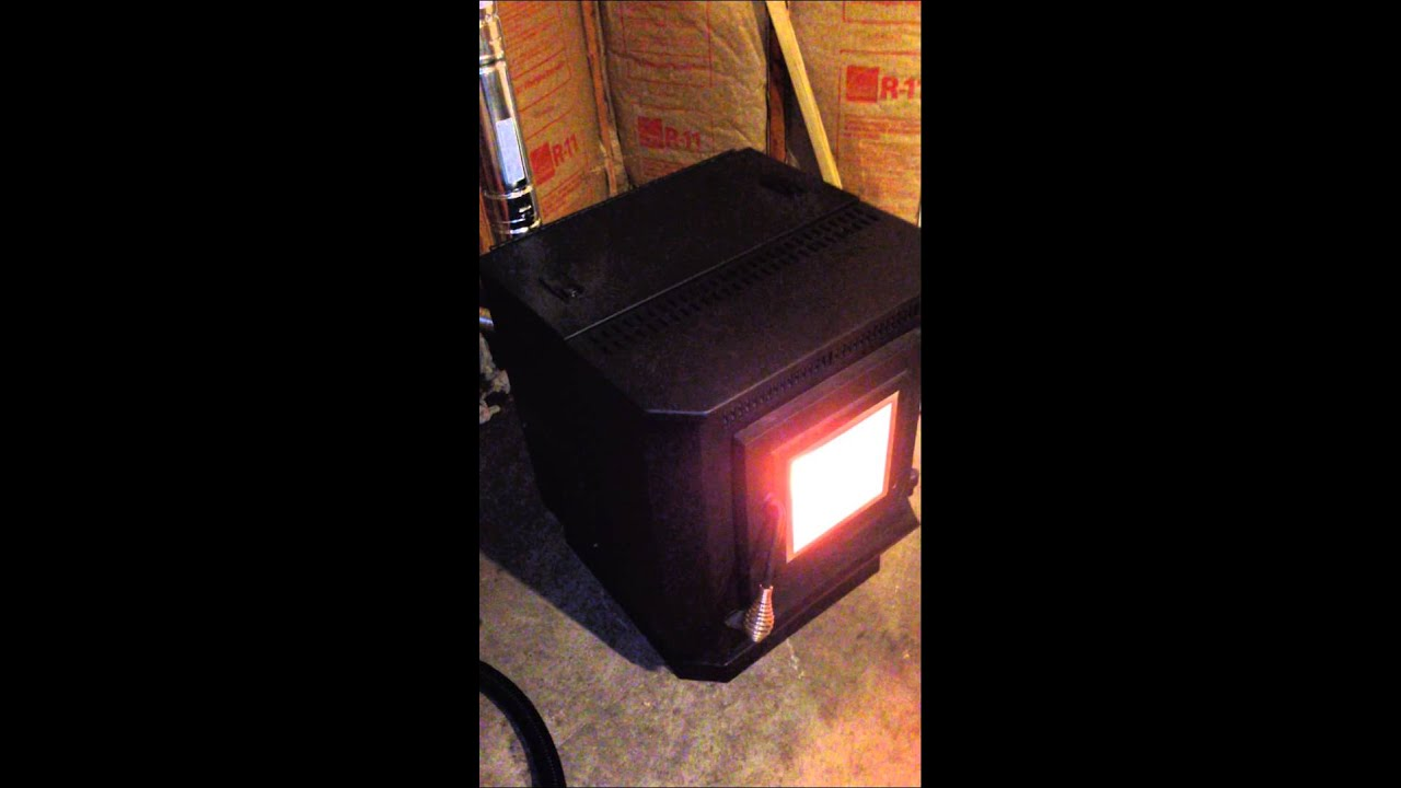 Pellet Stove Install In Uninsulated Garage Part 3 Of 4