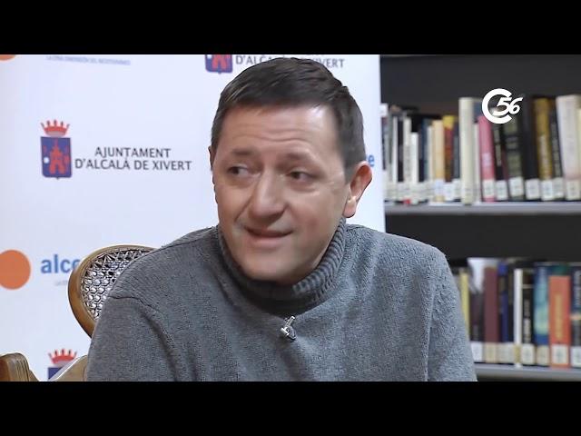 Ignacio Martínez de Pisón inaugura Club de Lectura Alcalà de Xivert 2020. Entrevista Mariola Nos