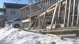 Family speaks out after car crash damages wheelchair ramp