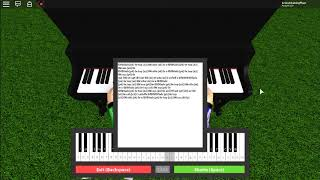 Roblox Fur Elise | Roblox Piano