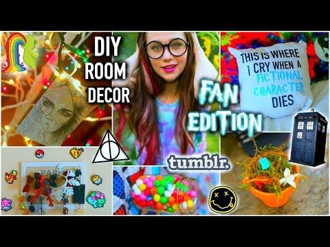diy-room-decor:-fan-edition-+-life-hacks,-tumblr-inspired,-and-organization-2015