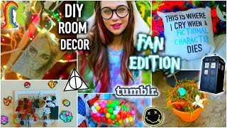 Diy Room Decor: Fan Edition + Life Hacks, Tumblr Inspired, And Organization 2015