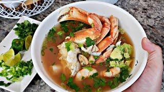 Caldo De Mariscos Recipe   How To Make Sopa De Siete Mares