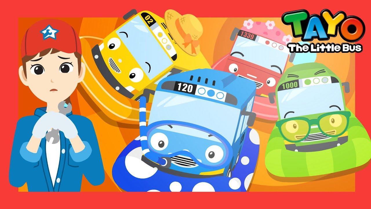 *NEW* Splash Splash Water Fun l Summer Song Series l Songs for Children l Tayo the Little Bus