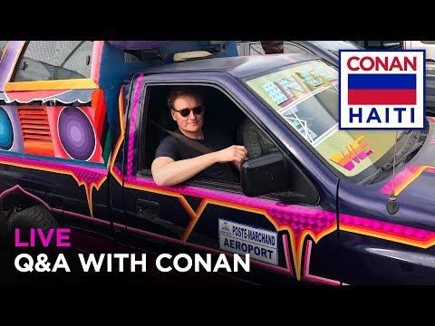 """Live Q&A: """"Conan Without Borders: Haiti"""""""