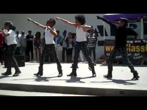 MINDLESS BEHAVIOR at Fairfax High School Dance!!