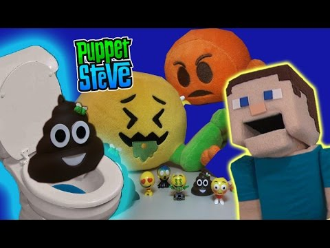 Emoji Toys Poo EASTER EGG Surpise Emoji Plush, Figures All Stars, UNBOXING Challenge Review