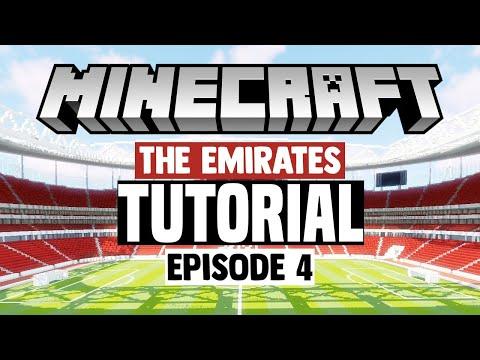 Minecraft Stadium Builds: Emirates Stadium [4] Stands