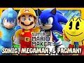 Super Mario Maker: Part 5 - Sonic, Megaman, & Pacman