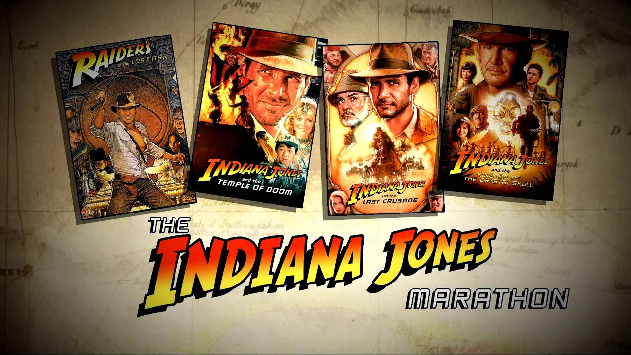 Image result for indiana jones movie marathon