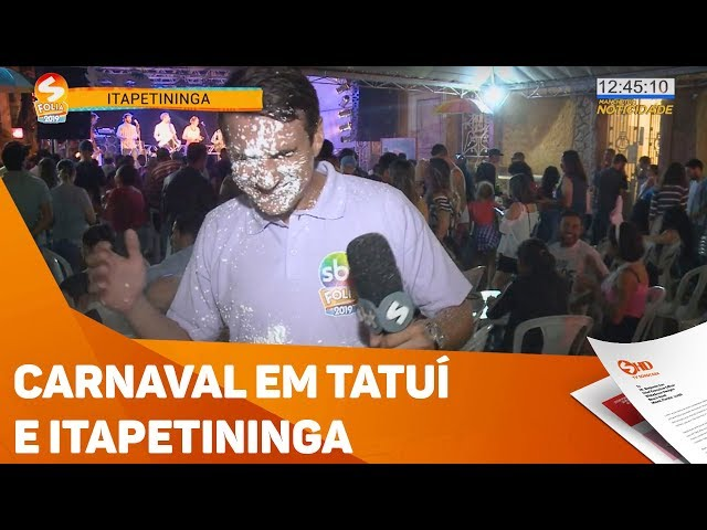Carnaval em Itapetininga e Tatuí - TV SOROCABA/SBT