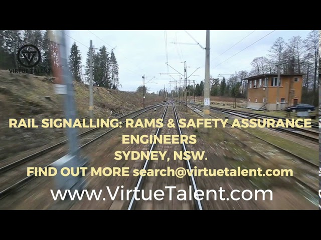 Rail Signalling, RAMS, Systems Safety & Assurance Engineers Jobs in Sydney - VIRTUE TALENT PTY LTD