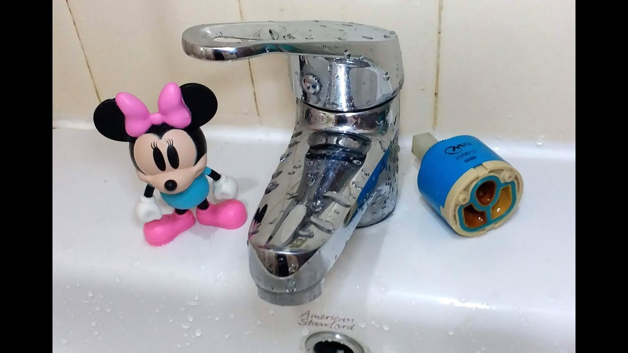 水龍頭滴水 / 更換陶瓷濾芯/ DIY / 成本 ??? How to fix a dripping tap 【20無限】 - YouTube