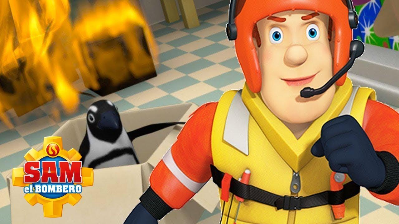 @Sam el Bombero en Español   Los mejores rescates   Aeromodelo - Temporada 7    Dibujos animados