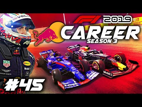 F1 2019 CAREER MODE Part 45: WHEEL TO WHEEL ACTION ALL RACE LONG!