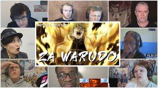 """ZA WARUDO! Dio's Stand """"The World"""" True Power Reversed Reaction Mashup!JJBA Stardust Crusaders Ep 46"""