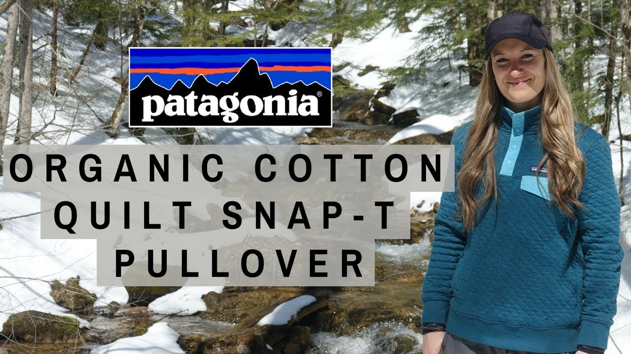 Patagonia Organic Cotton Quilt Snap T Pullover Tested