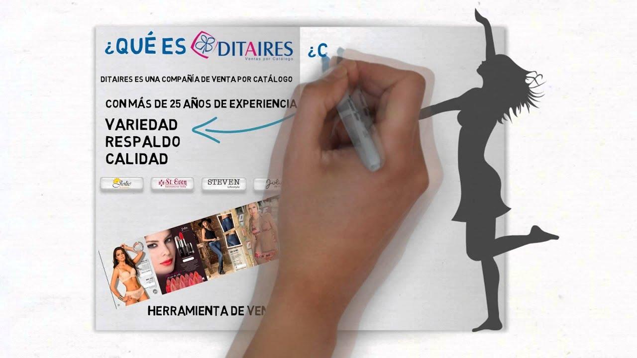 c421ed701 Ditaires Ventas por Catalogo - YouTube