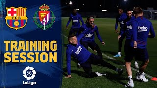 Ready for LaLiga game against Valladolid!