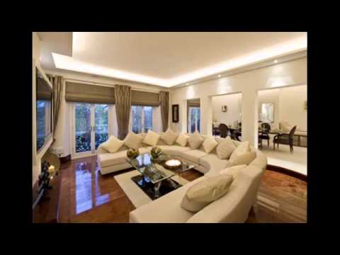 living room color schemes grey couch single sofa chairs for taupe - youtube