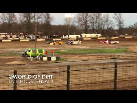 4.17.18 | Late Model Heat 1 | Fayette County (IL) Speedway