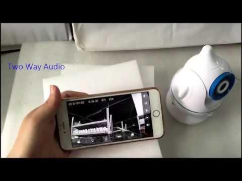 ESCAM Penguin QF521 720p WIFI IP Camera Baby Care Monitor