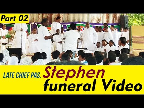 TPM funeral Videos | Late Chief Pas  Stephen | Part 02 | TPM