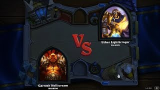 Hearthstone: Heroes of Warcraft - Paladin contre guerrier