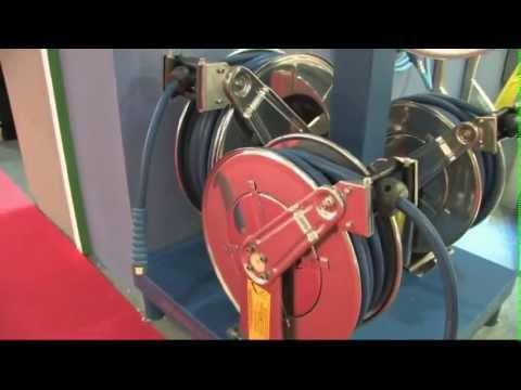 Enrollador de mangueras reysan atlantic youtube - Enrolladores de manguera ...