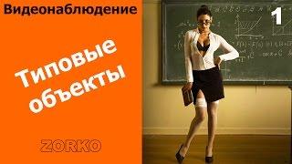 Типовые объекты - обучение ZORKO на семинаре Polyvision 30/11/16 или Видеонаблюдение в Омске