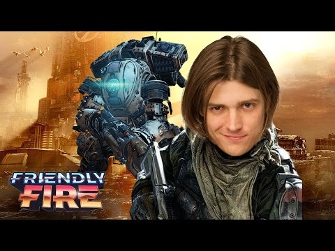 RIDING MECHS IN TITANFALL 2 (Friendly Fire)