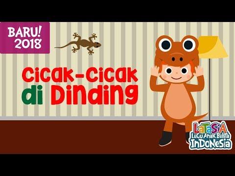 CICAK CICAK DI DINDING | LAGU ANAK INDONESIA POPULER