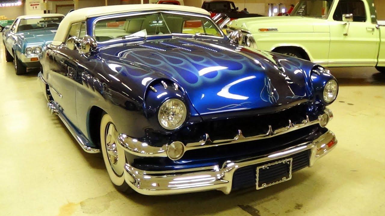 1950 Ford Custom Convertible Show Car Hot Rod 302 V8 - YouTube
