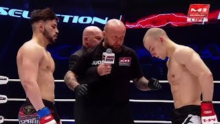 Даниэль Васкес vs Иван Кибала, M-1 Challenge 89