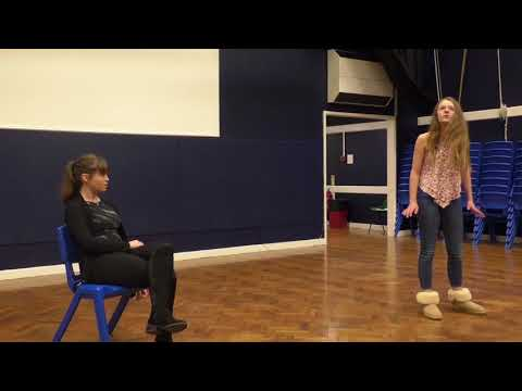 A Youth Theatre Rehearses For A Musical Based On The Hillsborough Disaster