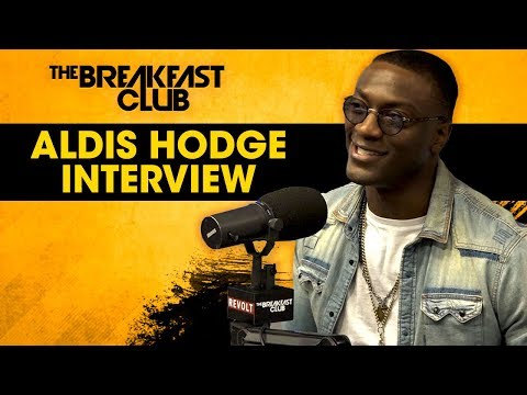 Aldis Hodge On Awkward Scenes With Taraji P. Henson, Passion For Engineering, Acting + More