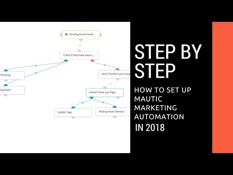 How to setup Mautic Marketing Automation Software - YouTube