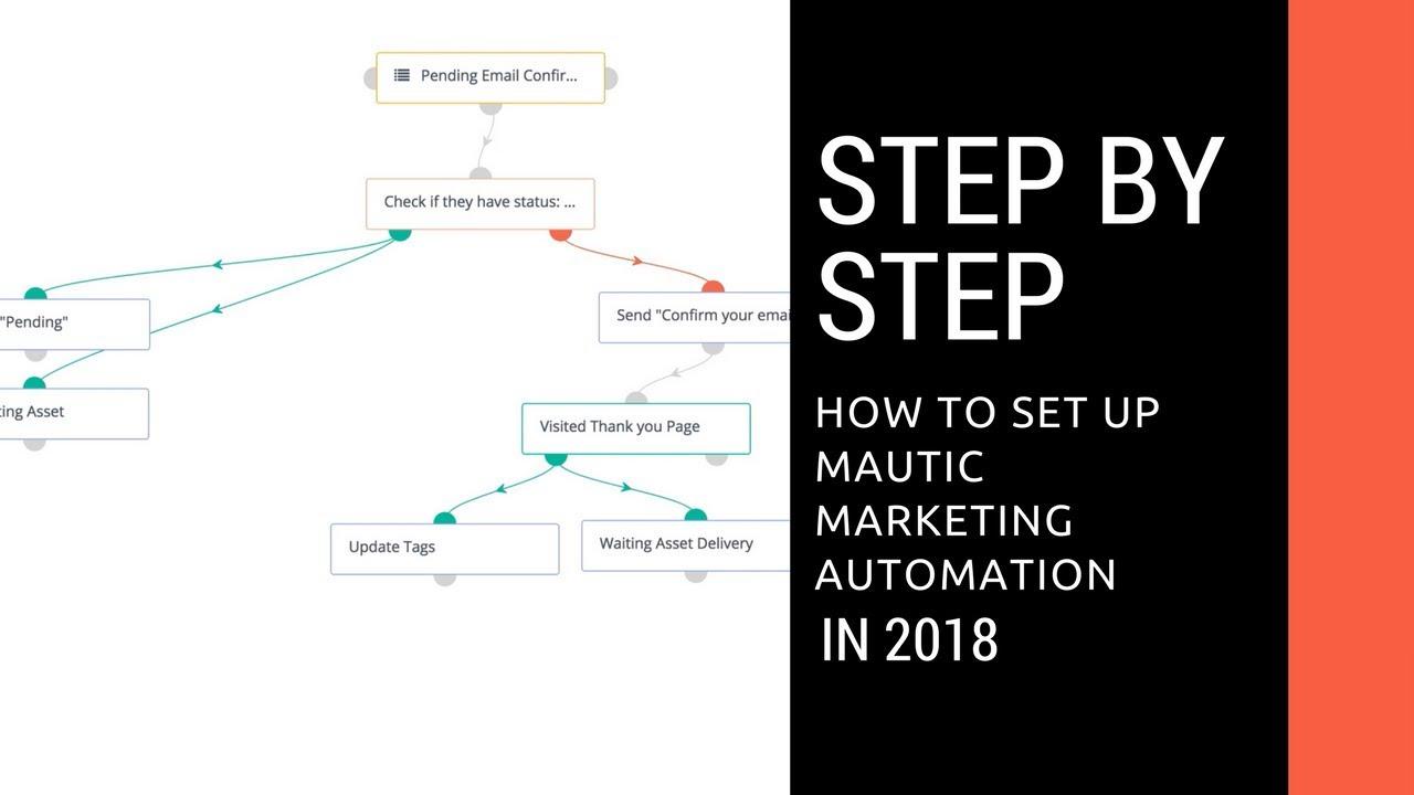 How to setup Mautic Marketing Automation Software