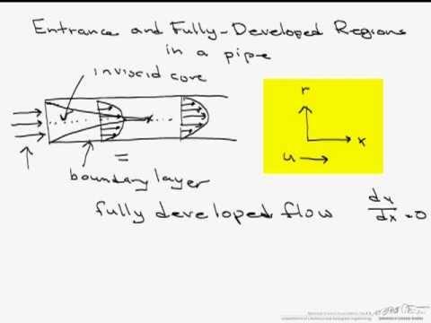 Entrance Region vs. Fully Developed Flow