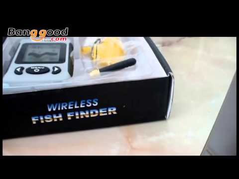 Wireless Sonar Sensor River Lake Sea Fish Finder - Banggood.com