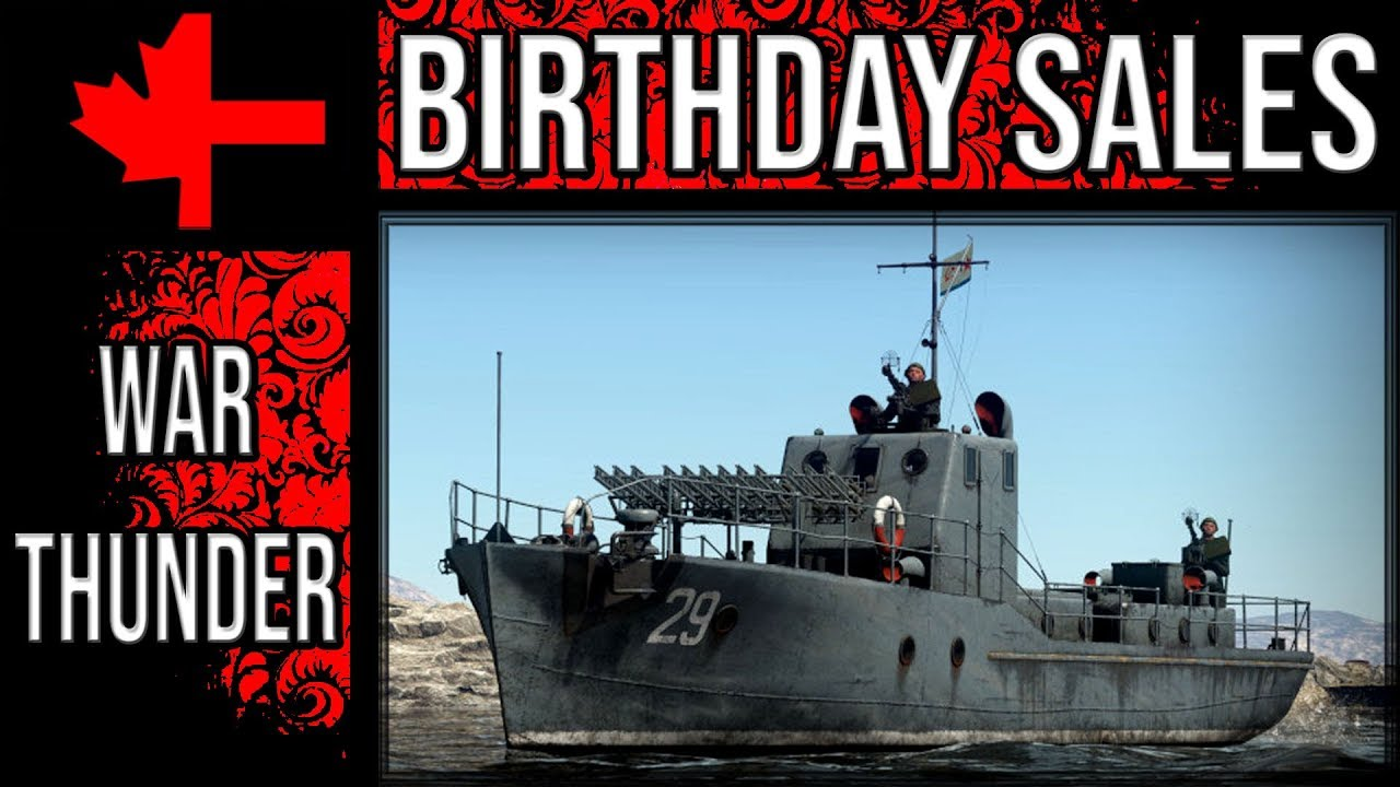 War Thunder - Birthday Sale and Gifts - YouTube